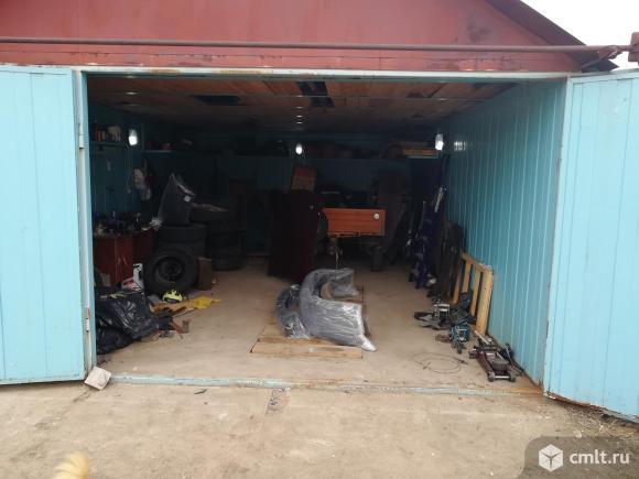 Металлический гараж 27 кв. м Алюминий. Фото 1.