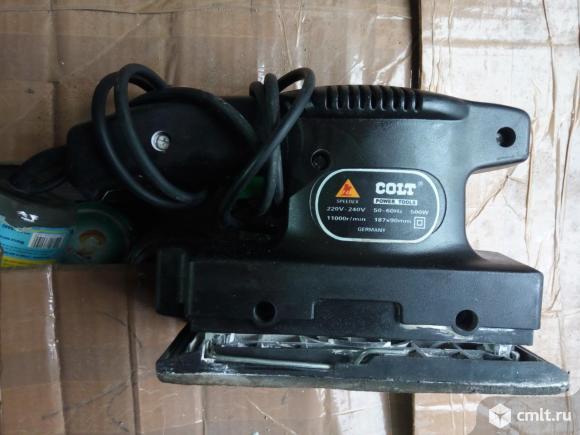 Шлифмашина вибрационная Colt. Фото 4.