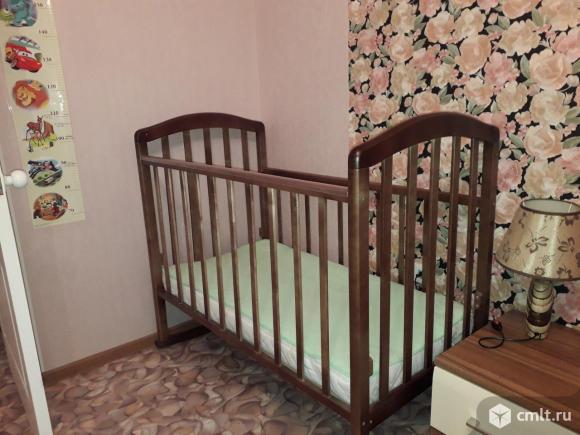 Продам детскую кроватку Антел с матрасом детским Plitex Bamboo Twin. Фото 1.