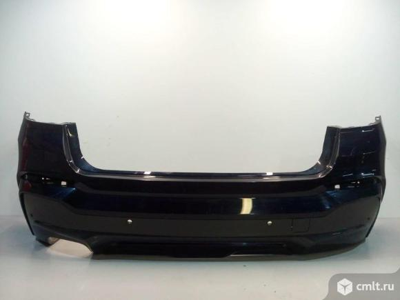 Бампер задний + спойлер под парктр. BMW X4 F26 14- б/у 51127338789 51127389890 51127413499 4*. Фото 1.