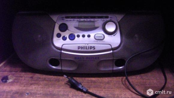 Аудиосистема Philips Boombox CD Soundmachine AZ 1226. Фото 7.