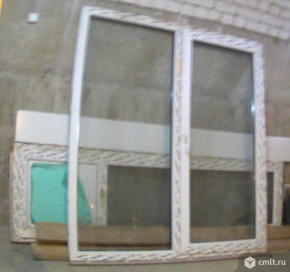 Окно,дверь пластиковая. Фото 4.