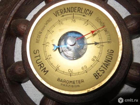 Барометр,термометр,гигрометр. Фото 1.