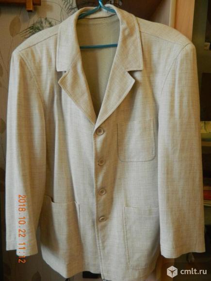 Пиджак льняной MONSIEUR. Фото 1.