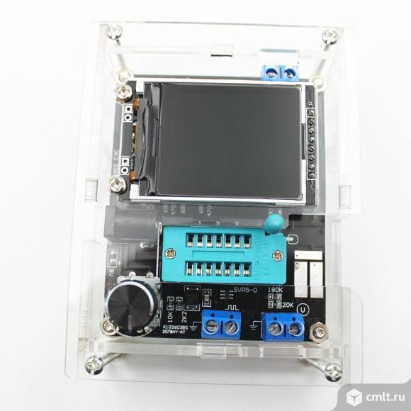 Универсальный тестер электронных компонентов GM328. Фото 1.