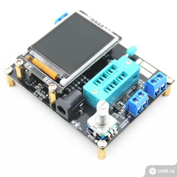 Универсальный тестер электронных компонентов GM328. Фото 6.