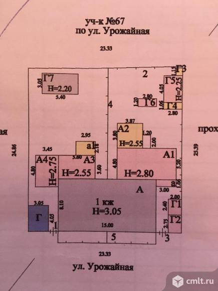 Часть дома 65 кв.м. Фото 14.