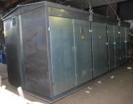 Комплектная двух  трансформаторная подстанция проходного исполнения ВН, мощностью до 1600 кВА