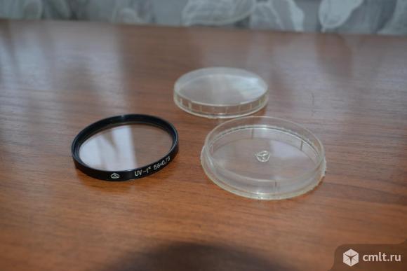 Светофильтры UV (ультрафиолетовыe) 49, 52, 58 мм. Фото 3.