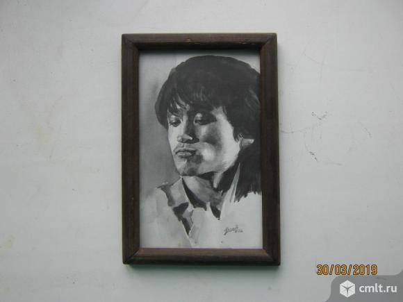 Портрет Виктора Цоя.. Фото 1.