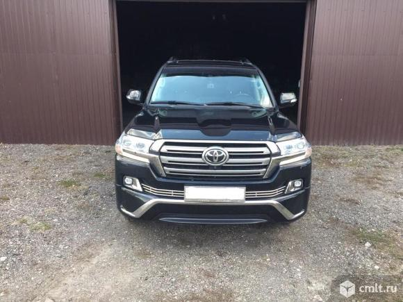 Toyota Land Cruiser - 2017 г. в.. Фото 1.