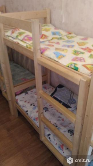 Двухэтажная детская кровать. Фото 2.