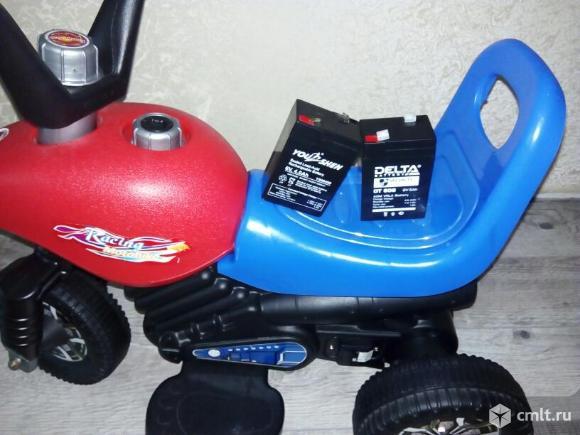 Детский трехколесный скутер. Фото 1.