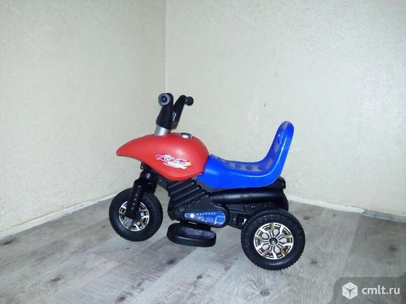Детский трехколесный скутер. Фото 2.