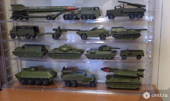 Куплю игрушки (военную металлическую технику СССР). Фото 1.