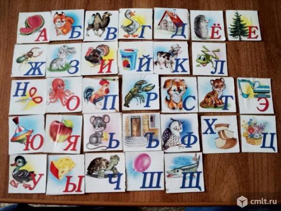 Азбука карточки. Фото 2.