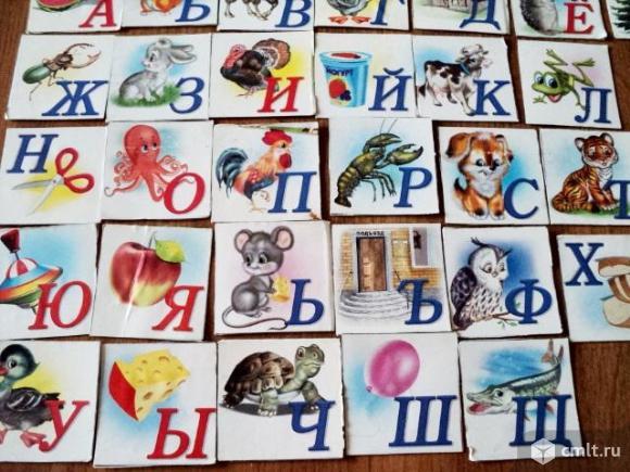 Азбука карточки. Фото 1.