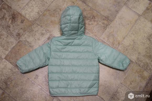 Куртка-ветровка весна-осень фирмы BabyGo для девочки.. Фото 3.