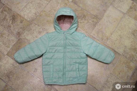 Куртка-ветровка весна-осень фирмы BabyGo для девочки.. Фото 1.
