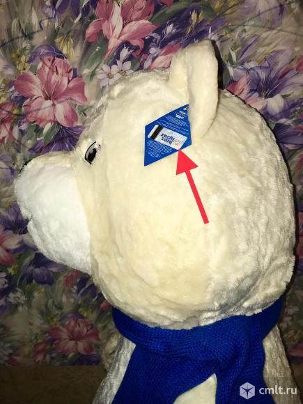 Мишка талисман Сочи 2014 Олимпийский большой 1 метр плюшевый мягкий новый. Фото 4.
