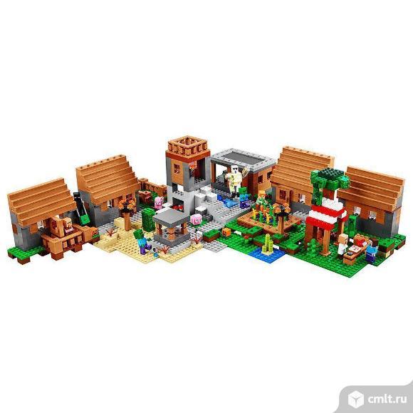 Конструктор Bela 10531 Майнкрафт Minecraft Деревня 1622 дет. Фото 4.