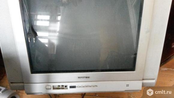 Телевизор кинескопный цв. LG lg. Фото 1.