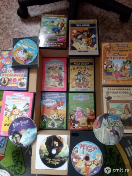 DVD диски. Фото 1.