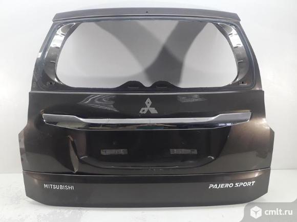 Крышка багажника + накладка + молдинг MITSUBISHI PAJERO SPORT 15- б/у 5801B685 5817A263YB 5817A262 3. Фото 1.