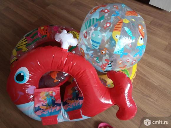 Надувные игрушки для плавания. Фото 1.