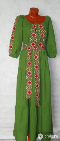 """Платье в """"Русском  стиле"""". Фото 1."""