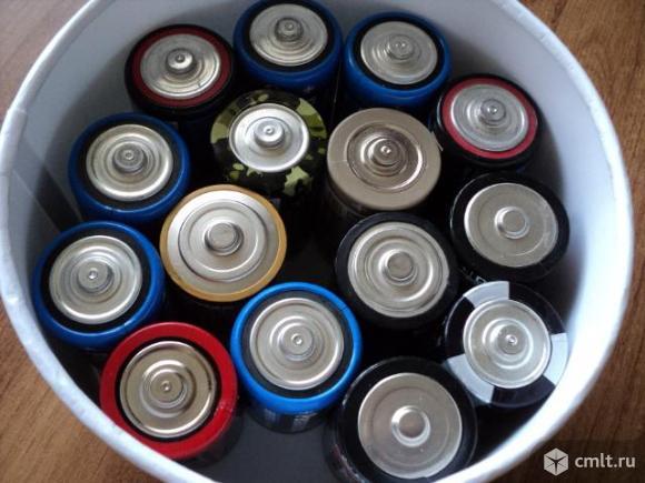 Батарейки Б/у. Фото 3.