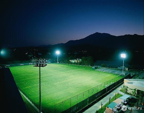 Футбольное поля, стадион с натуральным и искусственным газоном в любой точке России.. Фото 1.