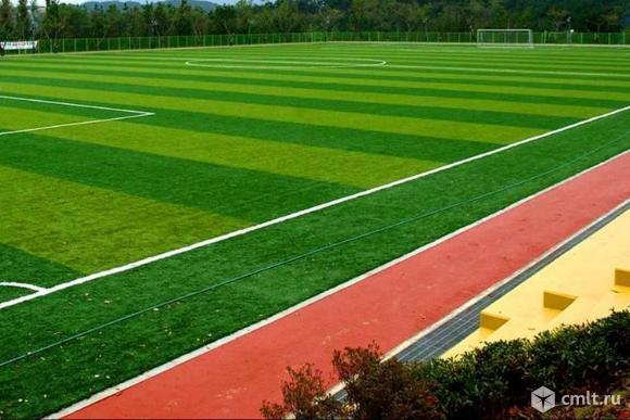 Футбольное поля, стадион с натуральным и искусственным газоном в любой точке России.. Фото 9.