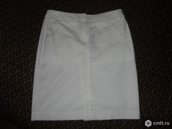 Новая белая юбка. Фото 1.