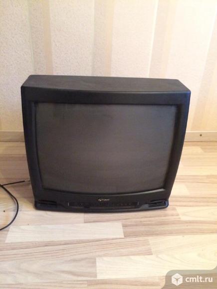 Телевизор кинескопный цв. Funai. Фото 1.
