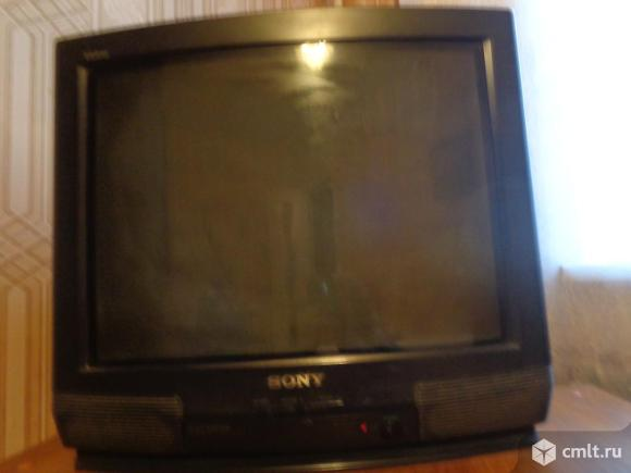 ТВ Sony-621 кинескопный, б/у, диагональ 51 см, 2 тыс. р. Фото 2.