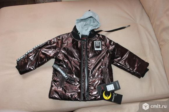 Новая куртка mten ten. Фото 1.