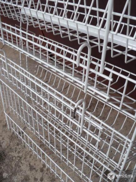 Полка для товара сетчатая. Фото 4.