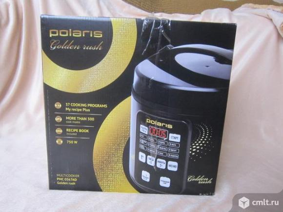 Мультиварка Polaris PMC 0567AD Golden Rush. Фото 1.