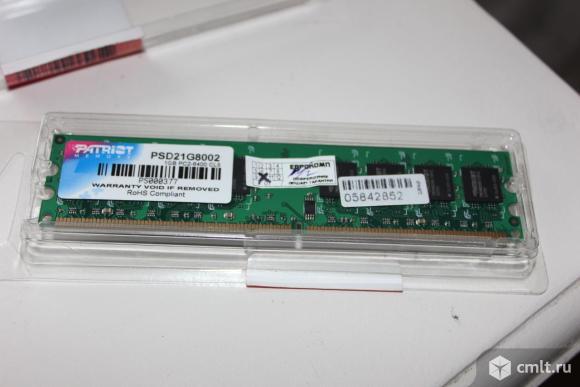 Память Patriot Memory 2 GB. Фото 6.