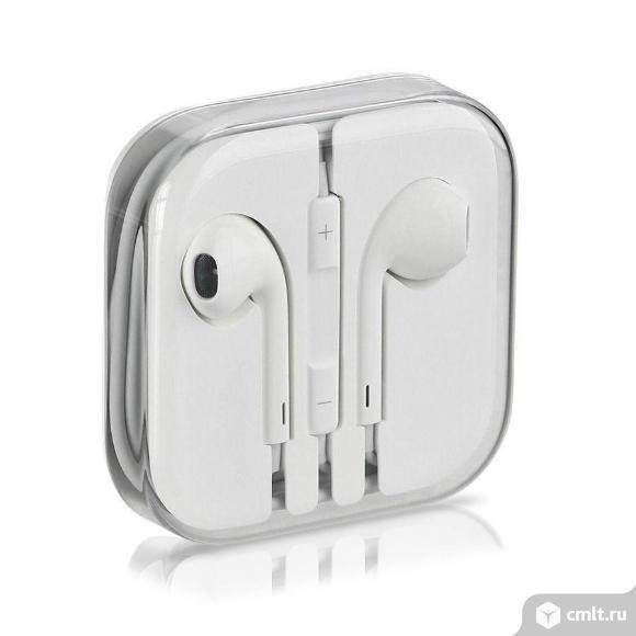 Новые,Качественные проводные наушники AirPods Apple. Фото 1.