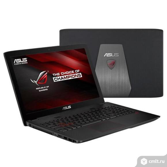 Ноутбук Asus Rog gl552wv. Фото 1.