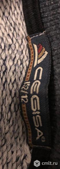 Серый теплый свитер. Фото 4.