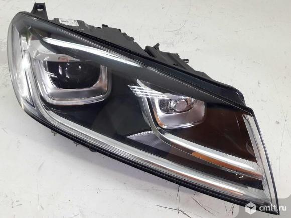 Фара правая LED XENON VW TOUAREG 15-18 б/у 7P1941754B 7P1941752B 1EL01193712 4*. Фото 1.