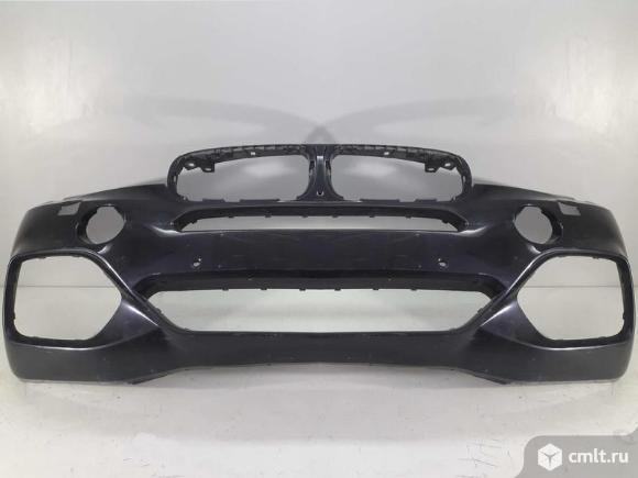 Бампер передний под парк и омыв BMW X5 F15 M PERFORMANCE 13- M-пакет б/у 51118062496 4*. Фото 1.
