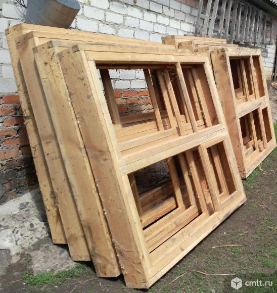 Оконные блоки (деревянные). Фото 5.