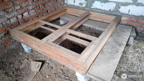 Оконные блоки (деревянные). Фото 1.
