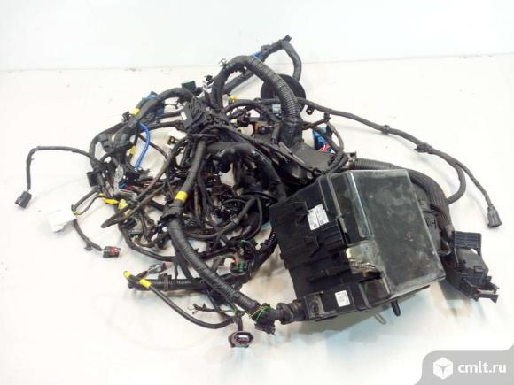 Проводка подкапотная двигателя KIA SPORTAGE 16- б/у 914D0F1200  3*. Фото 1.