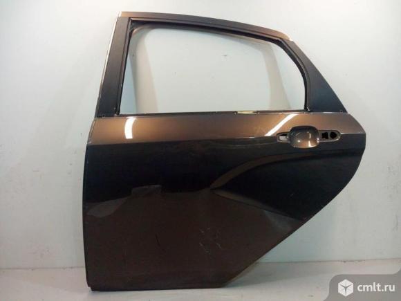 Дверь задняя левая LADA VESTA седан 15- б/у 8450039380 2*. Фото 1.