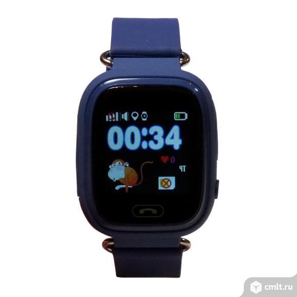 Детские часы с GPS трекером Smart Baby Watch Q80. Фото 4.